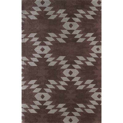 Alverstone Hand-Tufted Dark Iris Area Rug Rug Size: Rectangle 5 x 8