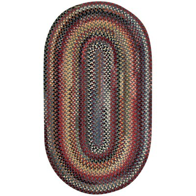 Kaweah Blue Outdoor Area Rug Rug Size: Oval 18 x 26