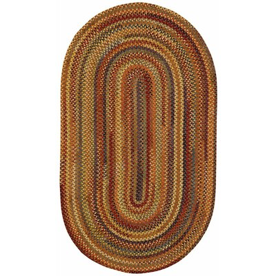 Kaweah Brown Area Rug Rug Size: Oval 7 x 9