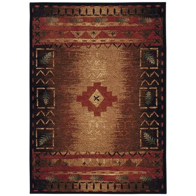 Sanak Coffee Multi Indoor/Outdoor Area Rug Rug Size: Rectangle 53 x 76