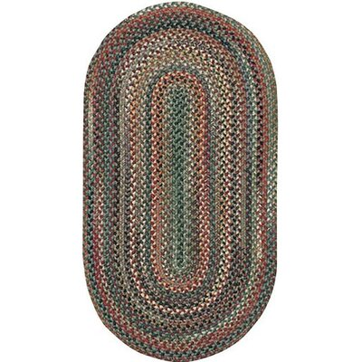 Rainmaker Pine Area Rug Rug Size: Oval 18 x 26