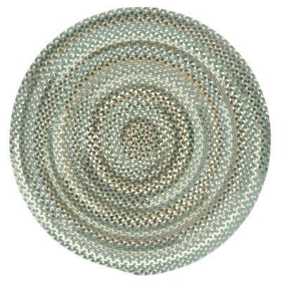 Kenji Green Olive Variegated Area Rug Rug Size: Round 28