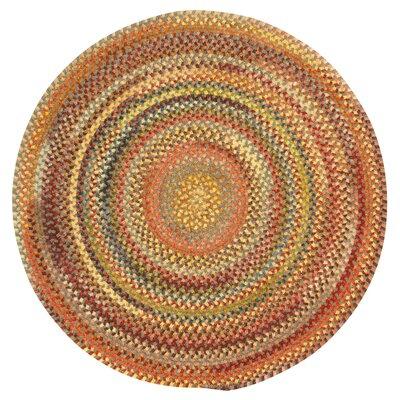 Kaweah Grey Variegated Area Rug Rug Size: Round 13