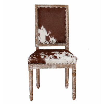 Drumright Cowgirl Hide Side Chair Set (Set of 2)