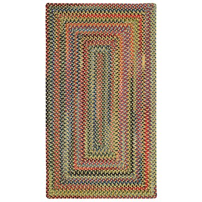 Sahale Yellow Striped Area Rug