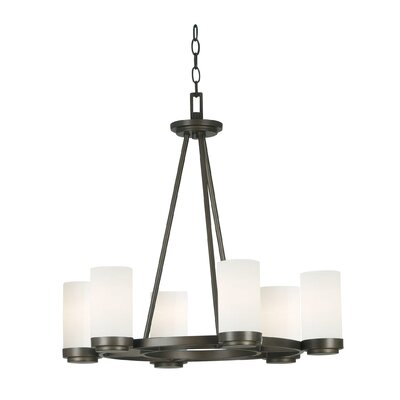 Newton 6-Light Shaded Chandelier