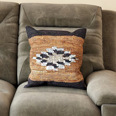 Deseret Woven Throw Pillow Color: Diamond