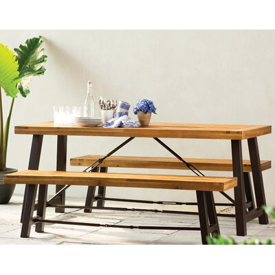 Benigna Wood Picnic Table 584 Product Image