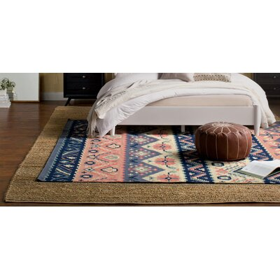 Double Mountain Hand-Woven Area Rug Rug Size: 36 x 56