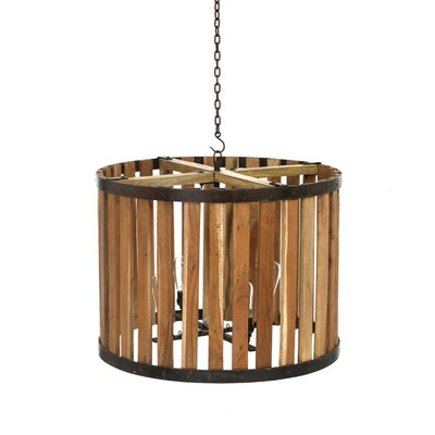 Pippa 4-Light Drum Pendant