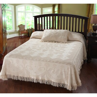 Kinnerly Bedspread Color: Antique, Size: Twin