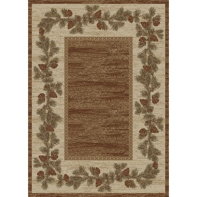 Durango Beige/Brown Area Rug Rug Size: Rectangle 311 x 53