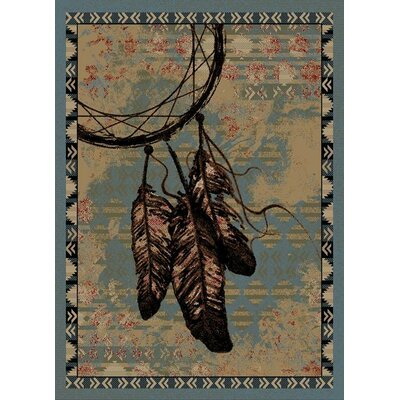 Windsor Lane Sedona Gray/Beige Area Rug Rug Size: 5 x 8