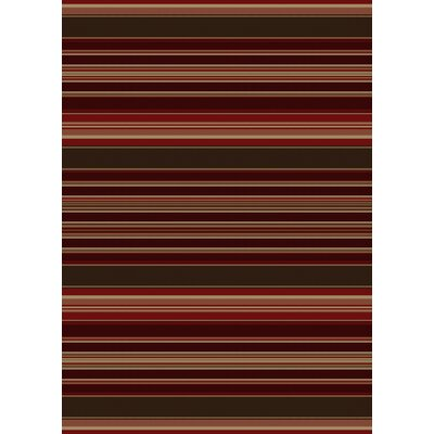 Chateaux Medley Red Area Rug Rug Size: 5 x 8