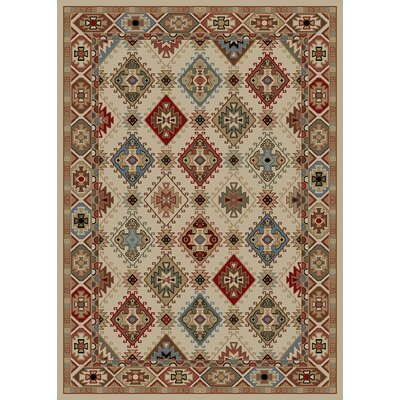 Chateaux Beige Area Rug Rug Size: 5 x 8