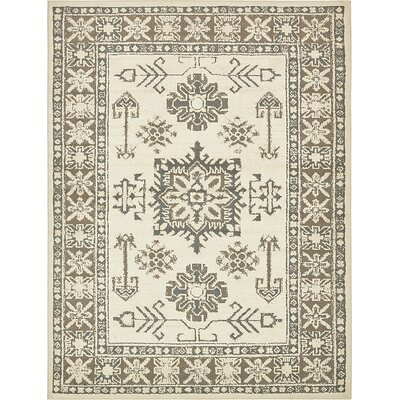 Giovanni Cream Area Rug Rug Size: 9 x 12