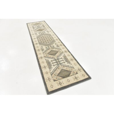 Giovanni Ivory Area Rug Rug Size: Runner 2 6 x 10