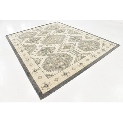 Giovanni Ivory Area Rug Rug Size: 8 x 10