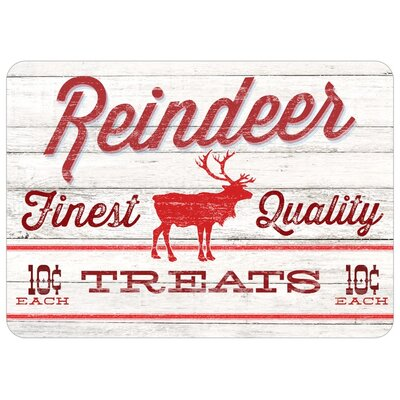 Corvus Reindeer Treats Doormat
