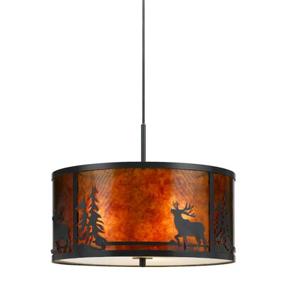 Watterson 3-Light Drum Pendant