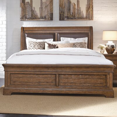Egremont Frame Panel Bed Size: King