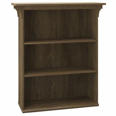 Loon Peak Aspen Standard Bookcase Finish: Rustic Brown