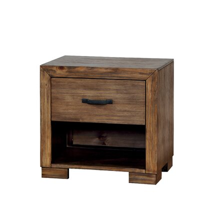 Fort Gibson 1 Drawer Nightstand