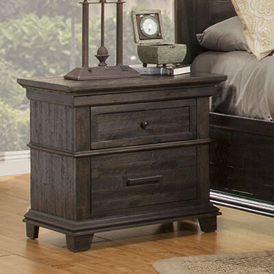 Colborne 2 Drawer Nightstand
