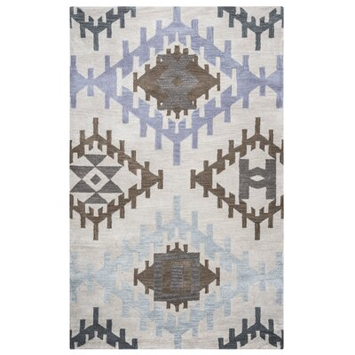 Upper St. Vrain Hand-Tufted Light Gray Area Rug Rug Size: 2 x 3