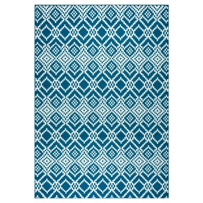 McCone Navy Indoor/Outdoor Area Rug Rug Size: Runner 23 x 77
