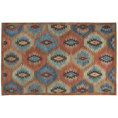 Harrison Hand-Tufted Paprica Area Rug Size: 9 x 12