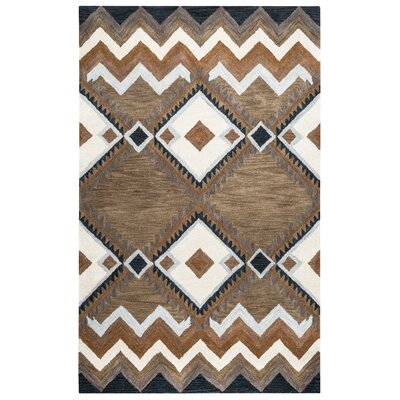 Upper St. Vrain Hand-Tufted Area Rug Rug Size: Rectangle 5 x 8