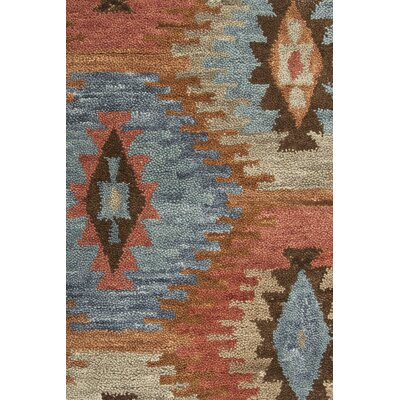 Harrison Hand-Tufted Paprica Area Rug Size: Rectangle 9 x 12