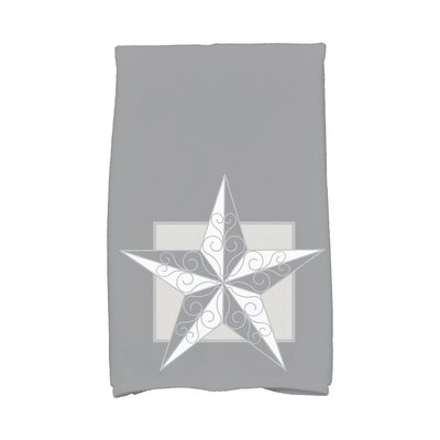 Joulon Night Star Hand Towel Color: Gray