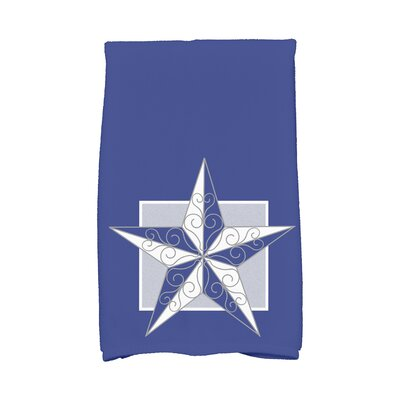 Meigs Night Star Hand Towel Color: Blue