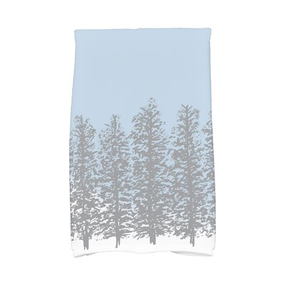 Joulon Hidden Forest Hand Towel Color: Gray