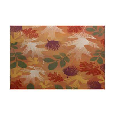 Brookfield Rust Indoor/Outdoor Area Rug Rug Size: Rectangle 3 x 5
