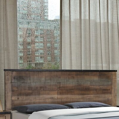 Shandra Panel Headboard Size: King