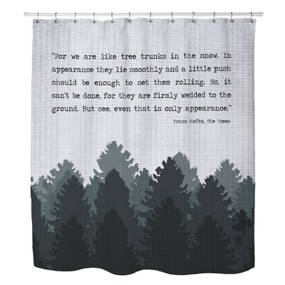 Champigny Trees Shower Curtain