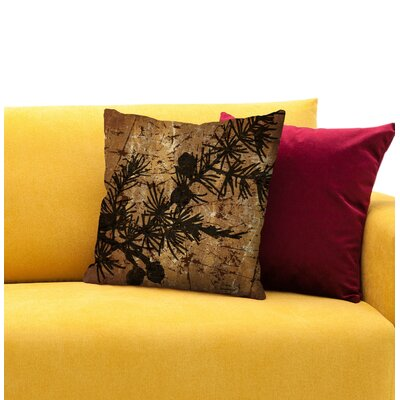Jupiter Tree Throw Pillow Size: 18 H x 18 W x 4 D