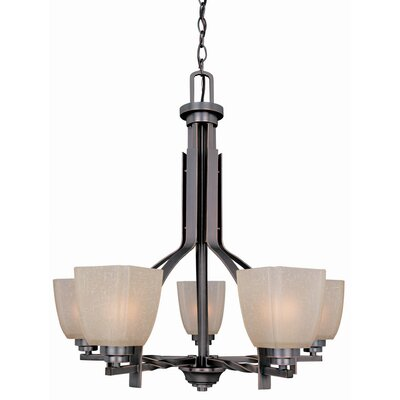 River House 5-Light Shaded Chandelier