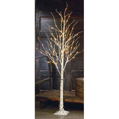 Loon Peak Metal Birch Lighted Tree
