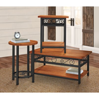 Carrollton Scrollwork 3 Piece Coffee Table Set