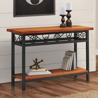 Carrollton Scrollwork Console Table