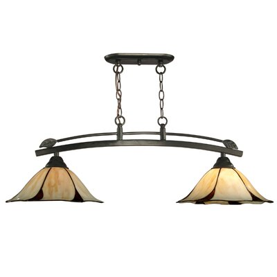 Mouron 2-Light Kitchen Island Pendant
