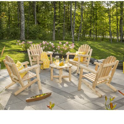Hooper 4 Piece Adirondack Seating Group
