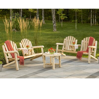 Hooper Premium 3 Piece Adirondack Seating Group