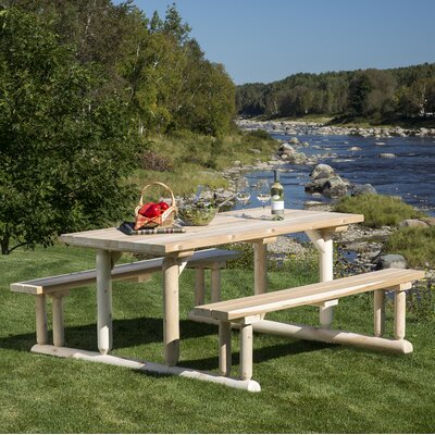 Hooper Riverside Picnic Table - Product photo