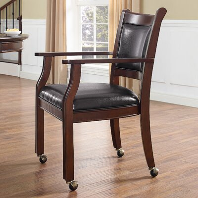 Genoa Arm Chair Finish: Rustic Mahogany