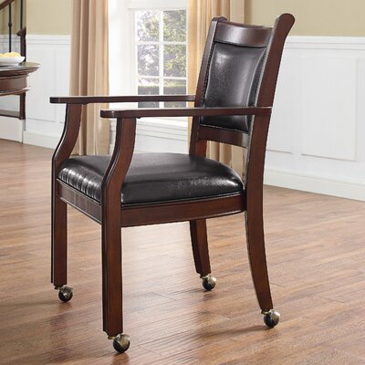 Genoa Arm Chair (Set of 2) Finish: Rustic Mahogany